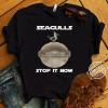 Baby Yoda Seagulls Stop It Now Shirt