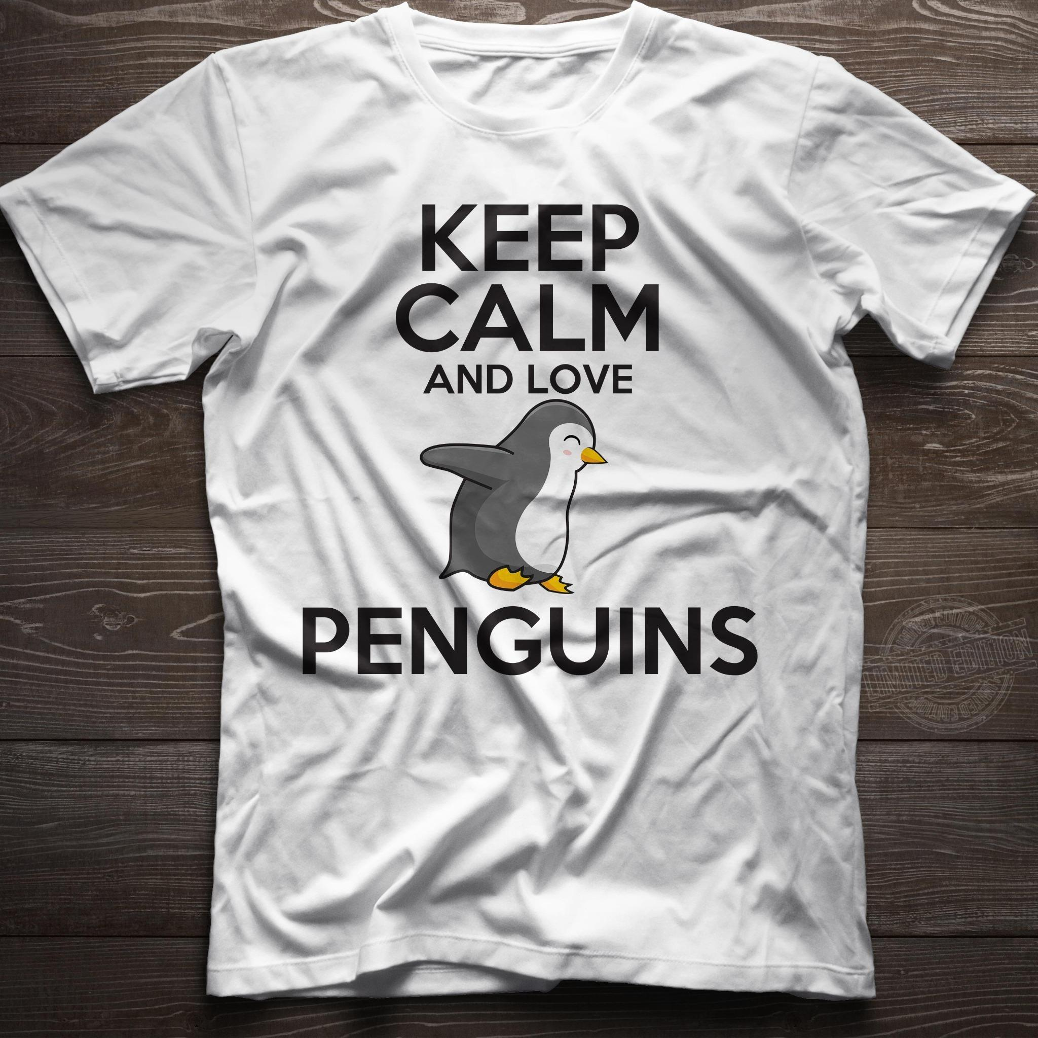 Keep calm and love penguins Shirt