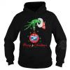 Merry Christmas Grinch hand holding US Postal Service Shirt