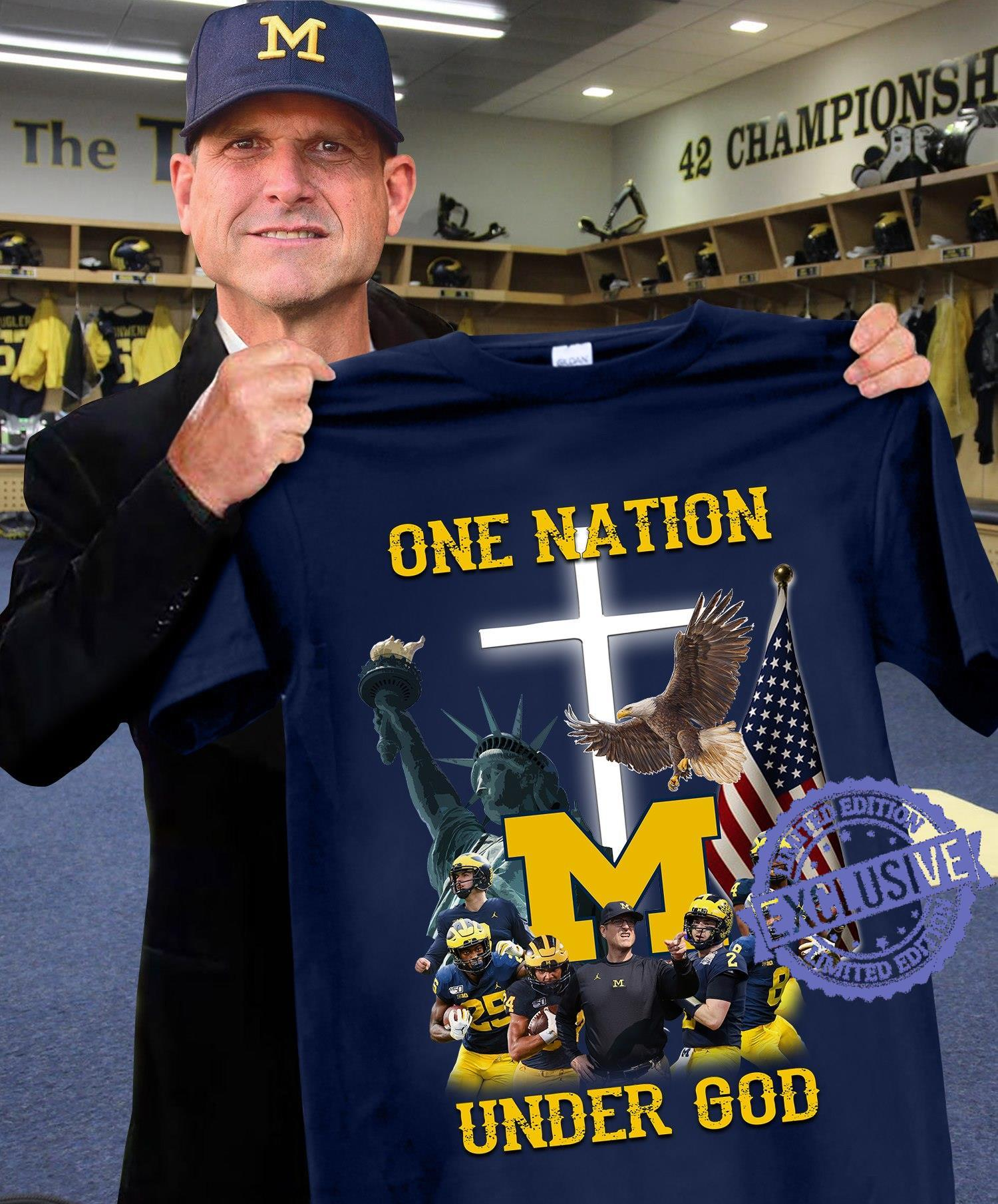 One nation under god shirt