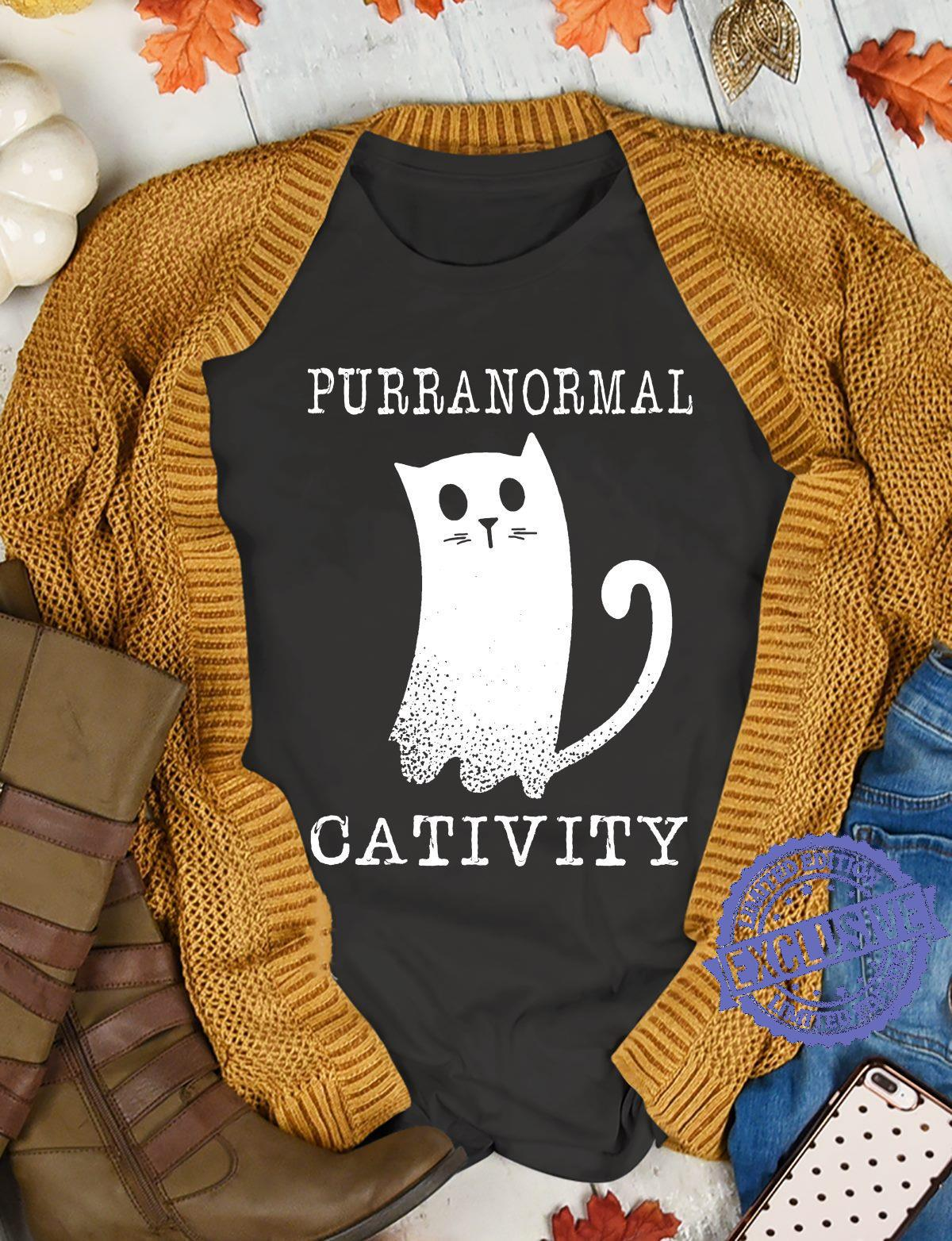 Purranormal cativity shirt