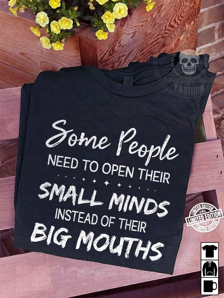 Some people need to open their small minds instead of their shirt