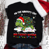 Turtle Santa On the naughty lít and I regret nothing Shirt